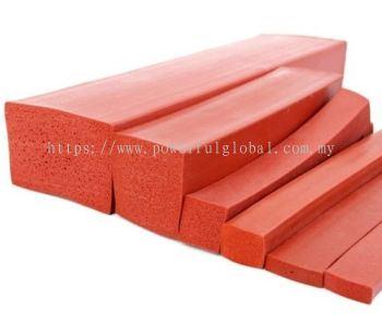 Silicone Sponge Rubber Square