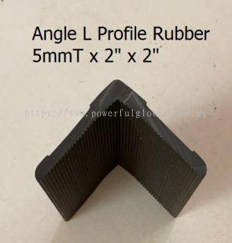 L Angle Rubber Profile