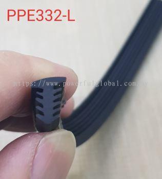 Rubber Seal Black PPE332-L
