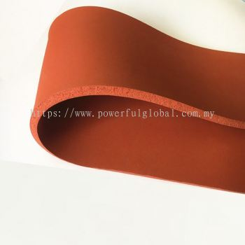 Red Silicone Rubber Sponge