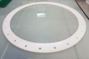 Silicone Rubber Gasket Translucent White FF