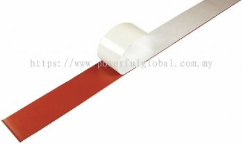 Red Silicone Strip With Adhesive Tape