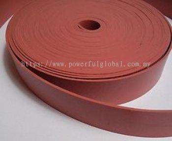 Red Silicone Rubber Strip