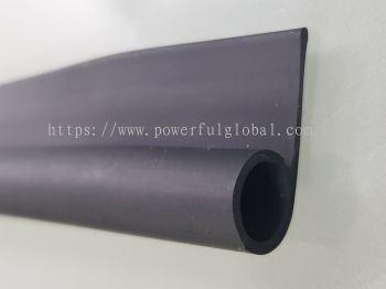 Black Rubber P Channel Seal PRE453