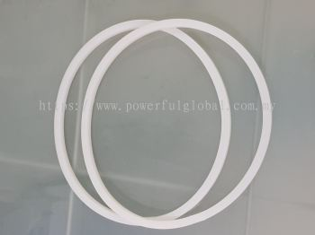 Translucent Silicone Rubber Square Ring