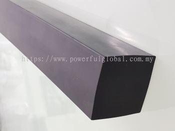 EPDM Rubber Solid Bar Black