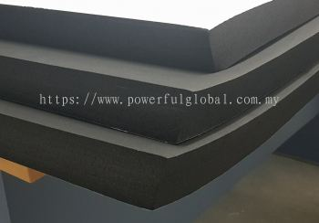 Rubber Sponge With One Side Tape