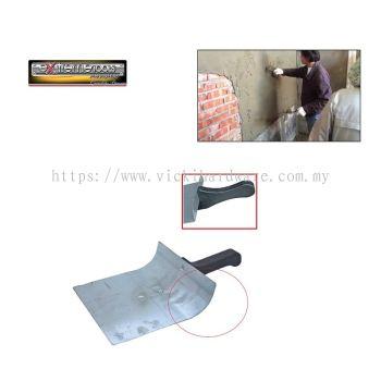 EX NEW~ROUND CEMENT TRAY C/W PVC HANDLE-00432H