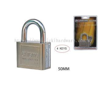 50 MM EXTREM SQUARE PAD LOCK - 00399B