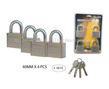 404 KEYALIKE PAD LOCK - 00399E