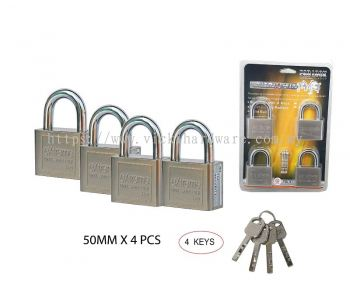 504 KEYALIKE PAD LOCK - 00399I