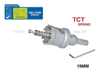19MM TCT SPRING HOLE SAW - 00713D