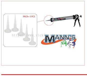 MN BARREL GUN ~ PVC  NOZZLE ( 1 PACK=5 ) -00717H