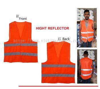 MD TYPE-REFLECTIVE SAFETY CLOTH-ORANGE -00172R