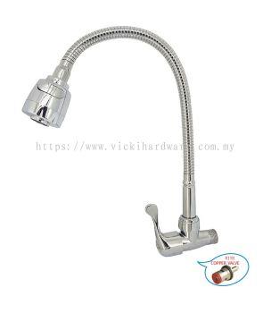 SL FX1113Y  FLEXI ARC WALL TAP -00920Y