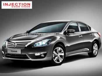NISSAN TEANA L33 14Y-ABOVE = INJECTION DOOR VISOR WITH STAINLESS STEEL LINING