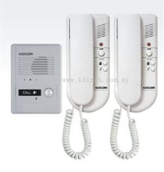 KDP-602AD - Kocom (1 to 2) Door Phone System (Intercom)
