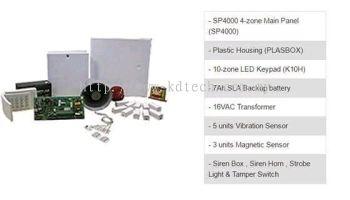Paradox Spectra SP4000 Alarm SP1 Package