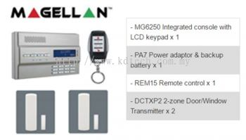 Paradox Magellan MG6250 Wireless Alarm MG1 Package