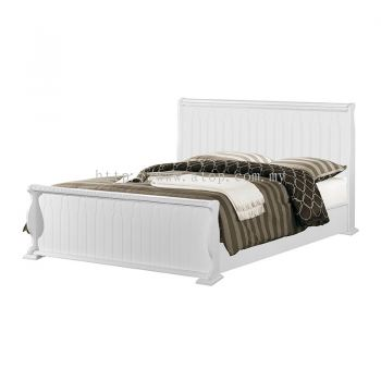 Atop ATN 8622WH King Size Bed Frame
