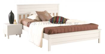 Atop ATN 9631WH King Size Bed Frame