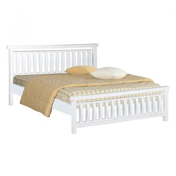 Atop ATN 7671WH King Size Bed Frame