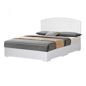 Atop ATN 8635WH King Size Bed Frame