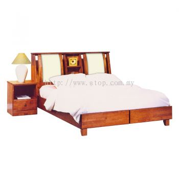 Atop ATN 8614A King Size Bed Frame