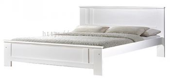 Atop ATN 3502WH Queen Size Bed Frame