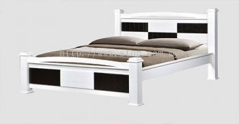 Atop ATN 3503WHW Queen Size Bed Frame
