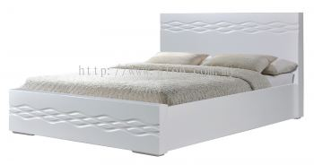 Atop ATN 3504WH Queen Size Bed Frame