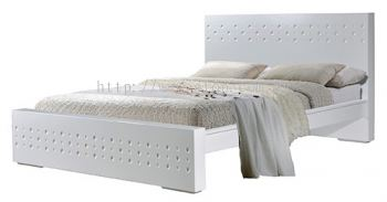 Atop ATN 3505WH Queen Size Bed Frame