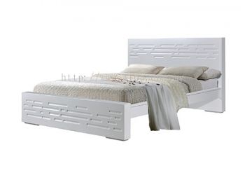 Atop ATN 3506WH Queen Size Bed Frame