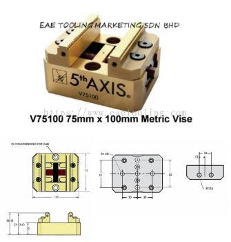 5th Axis Self-Centering Metric Vises