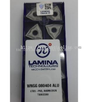 Lamina ALU- Turning WNGG 080404 ALU LT05