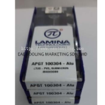 Lamina ALU-Milling APGT 100304 PDER-ALU LT05