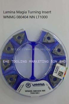 Lamina Magia Turning Insert WNMG 080404 NN LT1000