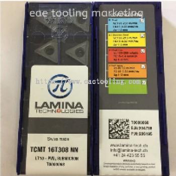 Lamina Turning Insert TCMT 16T308 NN LT10   Rotate Left