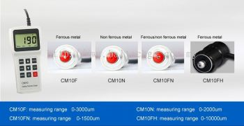 Coating Thickness Gauges - YUSHI CM10F/CM10N/CM10FN/CM10FH