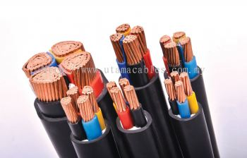 CU/XLPE/ PVC Sheathed Non-Armoured Cable