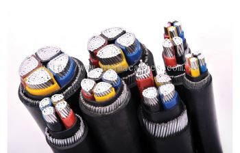 AL/XLPE/SWA PVC Armoured Cable