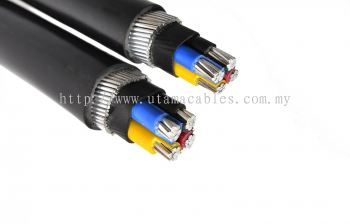 AL PVC/SWA/ PVC Armoured Cable