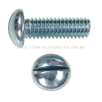 Slotted Round Head MS