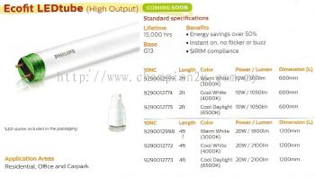 Ecofit LEDtube (High Output)
