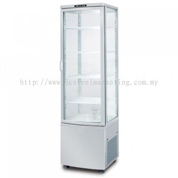 Display Chiller with 4 glass