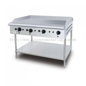 Roti Canai Gas Griddle with standing