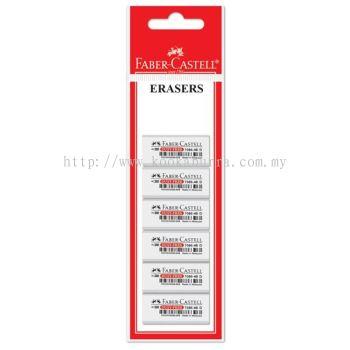 Faber Castell Eraser Set 6 pcs