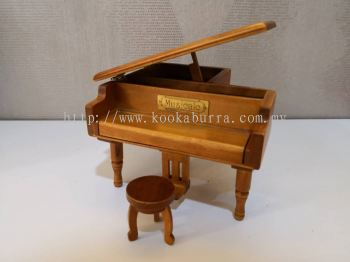 Piano Wooden Music Box