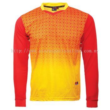 RNX 02 LS Yellow/ Red