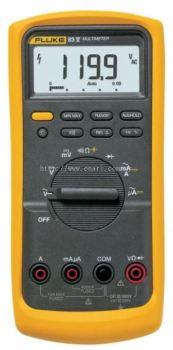 FLUKE 83V, AVERAGE RESPONDING INDUSTRIAL DIGITAL MULTIMETER